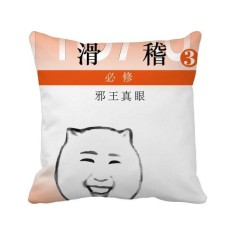 Book Cover Ridiculous Funny Meme Square Throw Pillow Insert Cushion Cover Home Sofa Decor Gift - intl