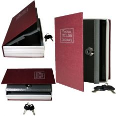 Book Safe Brankas Buku - Merah