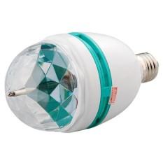 Boom Store-E27 3 W RGB LED Berputar Warna Mengubah Titik Bola Lampu Sorot untuk Pesta Natal-Internasional