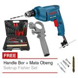 Jual Bor Bosch Gbm 350 Re Handle Bor Tool Kit Kenmaster Mata Obeng Bosch Ori