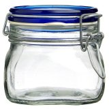 Miliki Segera Bormioli Rocco Fido Jar 500 Blue Top Tutup Biru
