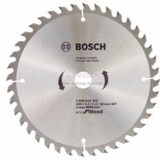 Spek Bosch 2608644318 Mata Gergaji Circular U Kayu 7 180 X 2 6 1 6 X 25 4 Mm 60T Eco