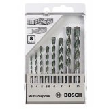 Iklan Bosch 8 Piece Set Mata Bor Multipurpose