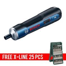 Harga Bosch Go 3 6V Mesin Obeng Baterai Free X Line 25 Pcs Origin