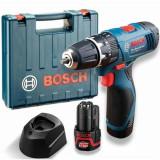 Jual Bosch Gsb 1080 2 Li 2 Baterai Mesin Bor Obeng Tembok Baterai Biru Bosch Branded