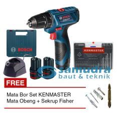 Beli Bosch Gsr 120 Li Bor Cordless Mata Bor Set Kenmaster Mata Obeng Jawa Barat