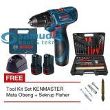 Pusat Jual Beli Bosch Gsr 120 Li Bor Cordless Tool Kit Kenmaster Mata Obeng Jawa Barat