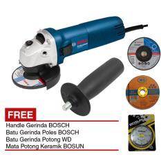Jual Bosch Gws 060 Handle Gerinda 4 Batu Gerinda Potong Poles Keramik Di Bawah Harga