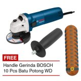 Review Tentang Bosch Gws 060 Handle Mesin Gerinda 4 10 Pcs Batu Potong Wd