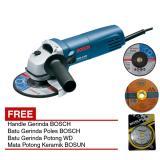 Review Terbaik Bosch Gws 5 100 Handle Gerinda Batu Gerinda Potong Poles Keramik