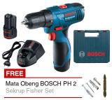 Ulasan Lengkap Tentang Bosch Mesin Bor Cordless Gsr 1080 2 Li Professional Gratis Mata Obeng Bosch Ph 2 Gold Sekrup Fisher