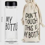 Jual Botol Minum Dont Touch My Bottle Satu Set