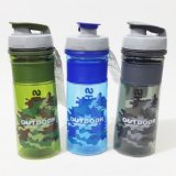 Spesifikasi Botol Minum Outdoor Sport Army Water Bottle Shotay 520Ml Tentara Bpa Free Leaf Proof Blue Murah