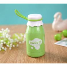 Miliki Segera Botol Minum Sweet Fashion Cup Solid Color 350Ml Sm 8406 Green