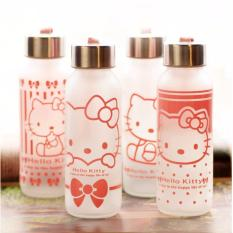 Botol Minum Termos Karakter Hello Kitty 300 ML - Clear Doff