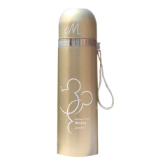 Situs Review Botol Minum Thermos Mickey Mouse Stainless Steel 500Ml Golden
