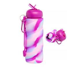 Promo Botol Minum Twist Smiggle Silicone Bottle Pink
