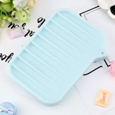 Baru Perjalanan Yang Silika Gel Sikat Sabun Dish Kotak Case Pemegang-Intl