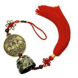Jual Lonceng Bell Kuningan Pixiu Angin Gantung Simpul Cina Ornamen Feng Shui Branded Original