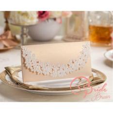 Bride Brain Amplop or Angpao- Champagne Gold-5pcs