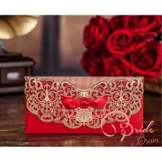 Bride Brain Amplop or Angpao- Merah-5pcs