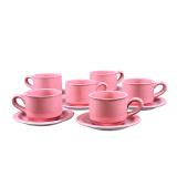 Beli Briliant Cup Saucer Polos Warna Gm003 Pink Briliant Murah