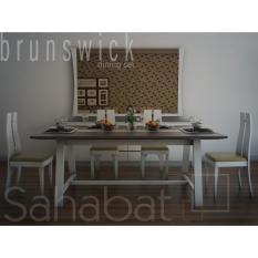 Harga Brunswick Cadline Urban Living Dinning Table Meja Makan Minimalis Dan Modern Lengkap