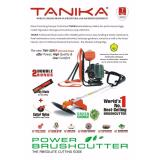 Jual Brush Cutter Mesin Potong Rumput Tanika Tnk 328 Er 2 Tak Branded