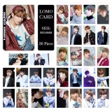 Bts Bangtan Boys You Never Walk Alone Jungkook Album Lomo Kartu Baru Fashion Self Made Paper Foto Kartu Hd Photocard Lk484 Intl Di Tiongkok