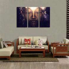 ... Seni Source · Buddha modern HD lukisan cat minyak di atas kanvas cetak gambar abstrak wajah Buddha cetak lukisan