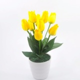Diskon Besarbuket Bunga Tulip Vas Melamin Murah