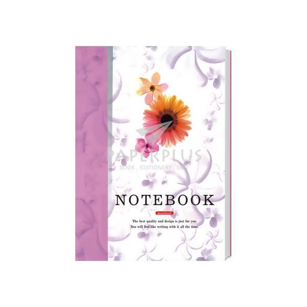 Buku Tulis A5 Jepang Note Book Maxleaf Bunga