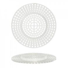 Bulk Beli: Darice DIY Kerajinan Plastik Bentuk Kanvas Round dengan Pusat Yang Diangkat 3 Inches 10 Pieces (6-Pack) 33002-Intl