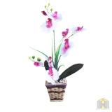 Harga Bunga Artificial Anggrek Bulan Putih Besar Murah