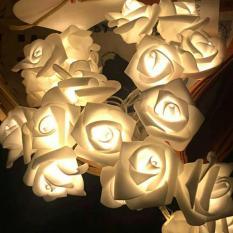 bunga mawar elektrik / lampu kembang LED / hiasan rumah / kamar tidur
