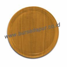 Bursa Dapur Baki Kayu Bundar 30 cm / Nampan Kayu Bulat