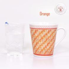 Bursa Dapur Carnivale Porcelain Mug 280 ml MIX SAND ORANGE - 6 pcs