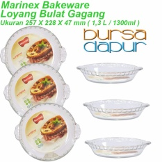 Bursa Dapur Marinex Loyang Bulat Gagang 257 x 228 x 47 mm ( 1,3 Liter ) - 6 pcs