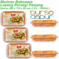Bursa Dapur Marinex Loyang Persegi 296 x 178 x 50 mm ( 1,6 Liter