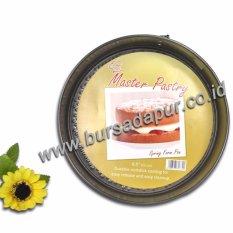 Bursa Dapur Master Pastry Non-Stick Spring Form 22 cm / Loyang Bulat/Loyang Bongkar Pasang - 6pcs