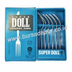 Bursa Dapur Super Doll Garpu Kue 24 pcs / 4 pack LEBIH MURAH
