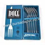 Jual Bursa Dapur Super Doll Garpu Makan 24 Pcs 4Pack Lebih Murah Grosir