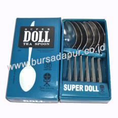 Bursa Dapur Super Doll Sendok Teh 24 pcs / 4 pack LEBIH MURAH