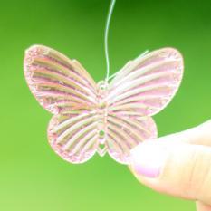 Spesifikasi These Butterflies Ponsel Lonceng Angin Ornamen Taman Gantung Pintu Hidup Hadiah Dekorasi Pink Terbaru