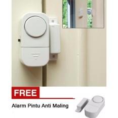 BUY 1 GET 1 FREE - Alarm Pintu Rumah Canggih Sensor Anti Maling (2 Pcs)
