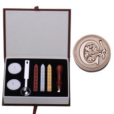 C Huruf Awal Alfabet Antik Lencana Stempel Segel Lilin Dengan Wax Kit Set Huruf A Z Opsional Oem Diskon 30