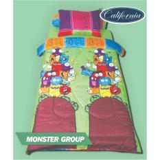 Daftar Harga California Monster Group Sprei Set 120X200X20 California