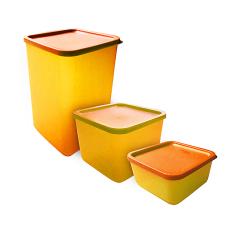 Jual Calista Kotak Fresh Set Isi 3 Orange Lengkap