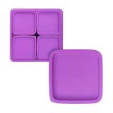 Harga Calista Kotak Makan Oedo Persegi Set Isi 5 Violet Online