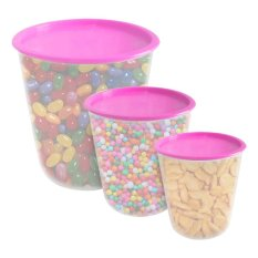 Calista Odate Set Toples 3 - 3 buah - Pink
